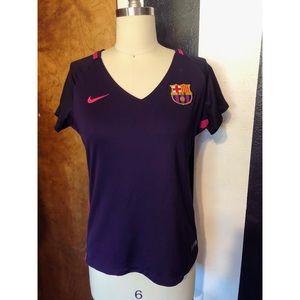 Nike Barcelona women's jersey